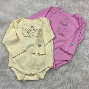 Disney Baby Girl 9 M Body Suits Winnie The Pooh